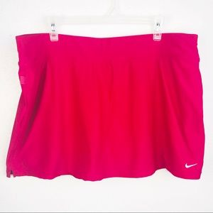 Nike | Hot Pink Dri-Fit Athletic Work Out Skirt